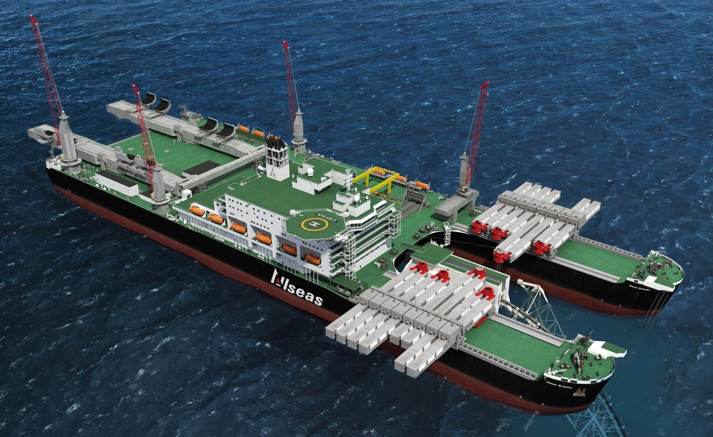 Allseas – crane control under the microscope