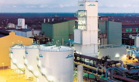 Migration for two large nitrogen compressors of Lindegas