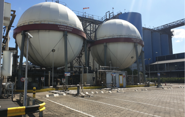 All new control philosophy for Linde Gas Botlek tank park